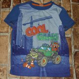 футболка Монстрик 7лет Кики Коко Сток большой выбор одежды 1-16лет