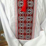 Красивая мужская вышиванка с длинным рукавом