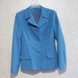 Пиджак 170х88х96 шикарный женский морская волна
