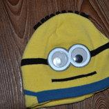 Деми шапка мальчику Minion