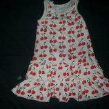 летнее платье Некст 2-3г