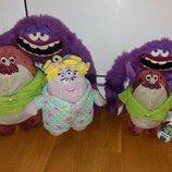 Салли Майк Арт игрушки из мультфильма Корпорация университет монстров. с клеймом.Дисней Disney.