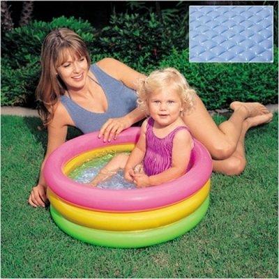 Детский надувной бассейн «Радуга» Intex 57107