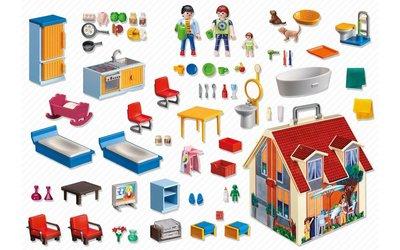 Playmobil Кукольный домик возьми с собой переносной 5167 Take Along Modern Doll House