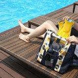 Компактная летняя сумочка для похода на пляж