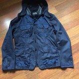 Armani куртка котон-полиамид