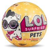 Кукла шар оригинал L. O. L. Surprise Pets Series 3 Лол Питомцы LOL MGA Сша питомец