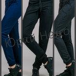 Спортивные штаны женские, брюки, трикотажные, на резинке