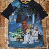 футболка Звездные Войны 5-6лет Джорж большой выбор одежды 1-16лет