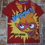 футболка хб Супер Моши 5-6лет Джорж большой выбор одежды 1-16лет