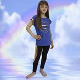 Лосины для девочек диско рост 98-128