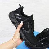 Кроссовки женские сетка Adidas Climacool W black