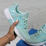 Кроссовки женские сетка Adidas Climacool W mint
