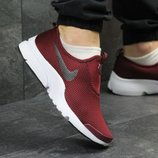 Мужские кроссовки низкие Nike burgundy