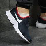 Мужские кроссовки низкие Nike dark blue/red