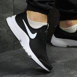 Мужские кроссовки низкие Nike black/white
