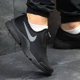 Мужские кроссовки низкие Nike black
