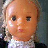 Кукла Ссср редкая паричковая 52 см