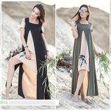 Оригинальное летнее платье Бамбук