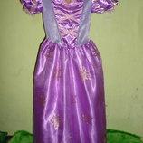 платье Рапунцель на 7-8 лет