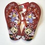 Детские шлёпанцы, вьетнамки Disney на девочку, размер 30/31,34/35