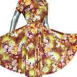 Эффектные платья с пышными юбками. 40-52