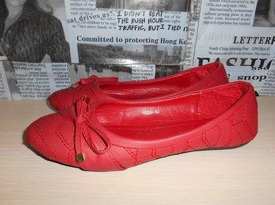 Новые красные балетки, туфли, натуральная кожа,р. 36, Италия  300 ... 226ccc4dbee
