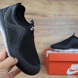 Кроссовки мужские сетка Nike Good Free Gray