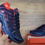 Кроссовки мужские Nike TN Plus blue/red , Топ качество