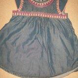 Платье с вышивкой George 4-5л