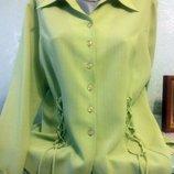 Отличная, очень качественная новая блуза, размер 50-52 наш