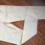 Новые яркие желтые джинсы узкачи Denim на рост 170 см