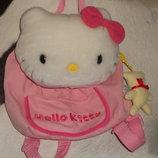 шикарный рюкзачок для девочки Hello kitti Sanrio оригинал