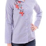 Женская рубашка в полоску в наличии новая l р