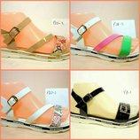 Босоножки сандалии женские на танкетке. Разные цвета. Размер 35-40.