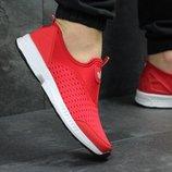 Кроссовки низкие сетка Adidas red