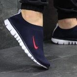 Кроссовки мужские низкие Nike dark blue