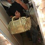 Эффектная сумка-корзина Louis Vuitton