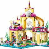 Конструктор Lele 79278 аналог Lego Disney Princess 41063 Подводный дворец Ариэль