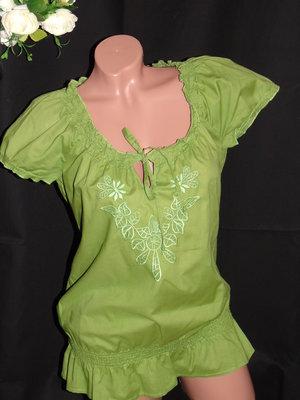 ESPRIT Шикарная блуза цвета зелени - M - L