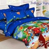 1, 5-спальный комплект постельного белья ранфорс постельное
