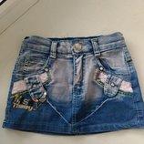 джинсовая юбка на девочку
