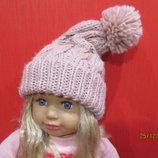 Шапка шапочка для школьницы подростка