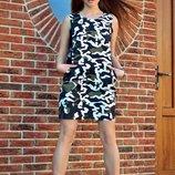 Платье камуфляжное 44