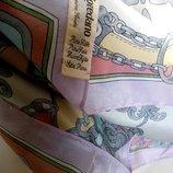 Изысканный нежный платок Loredano из 100% натурального шелка 76 76 см италия