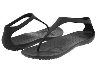 Сандалии Crocs Sexi Flip, Black, W8, W9, W10