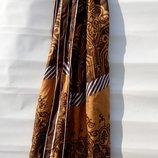 Стильный шарф из 100% натурального шелка 170 43см