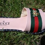 Шлепанцы женские GUCCI 39 р - 25,5 см , акция