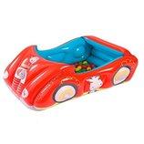 Детский надувной бассейн BESTWAY 93520 Машина с шариками