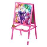 Мольберт двухсторонний деревянный My Little Pony M 072